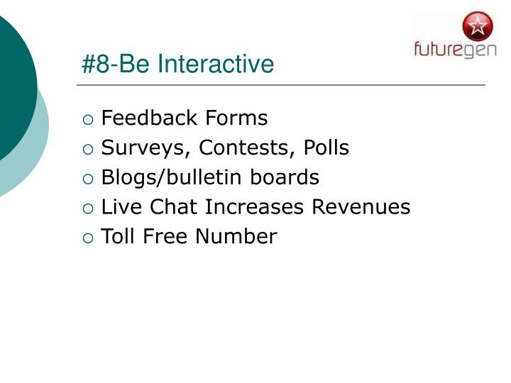 #8-Be Interactive