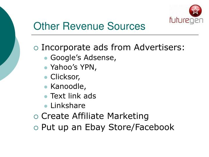 Other Revenue Sources