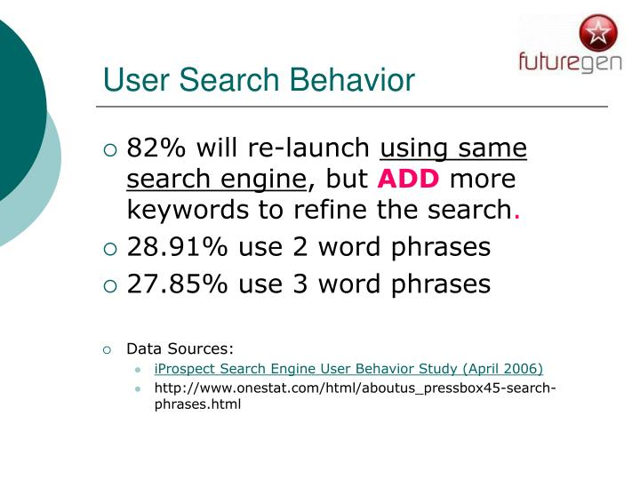 User Search Behavior