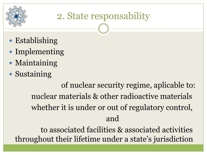 2 state responsability