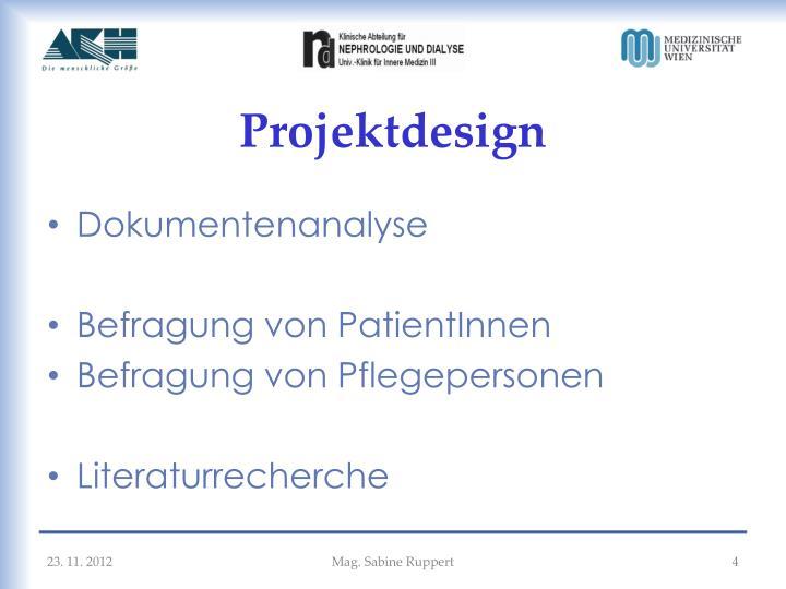 Projektdesign