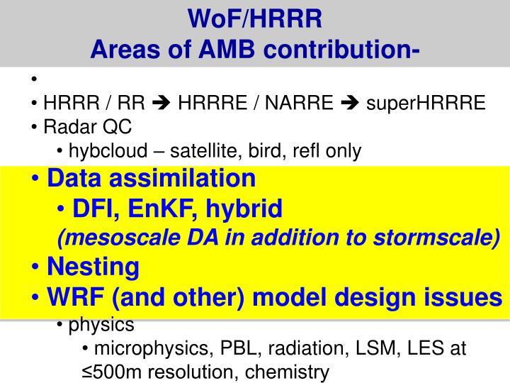 WoF/HRRR