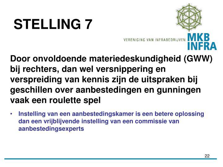 STELLING 7