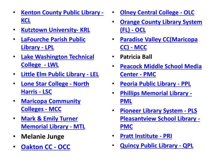 Kenton County Public Library - KCL