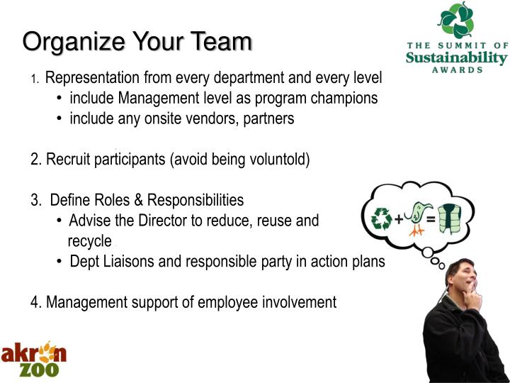 Organize Your Team