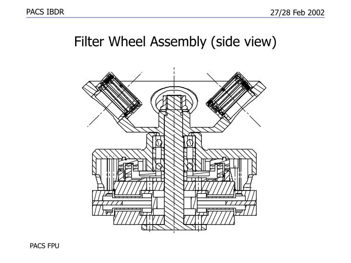 Filter Wheel Assembly (side view)