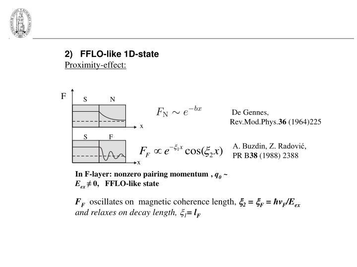 2)   FFLO-like