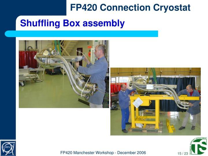 Shuffling Box assembly