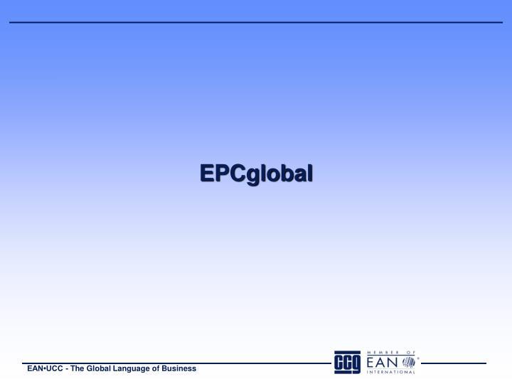 EPCglobal