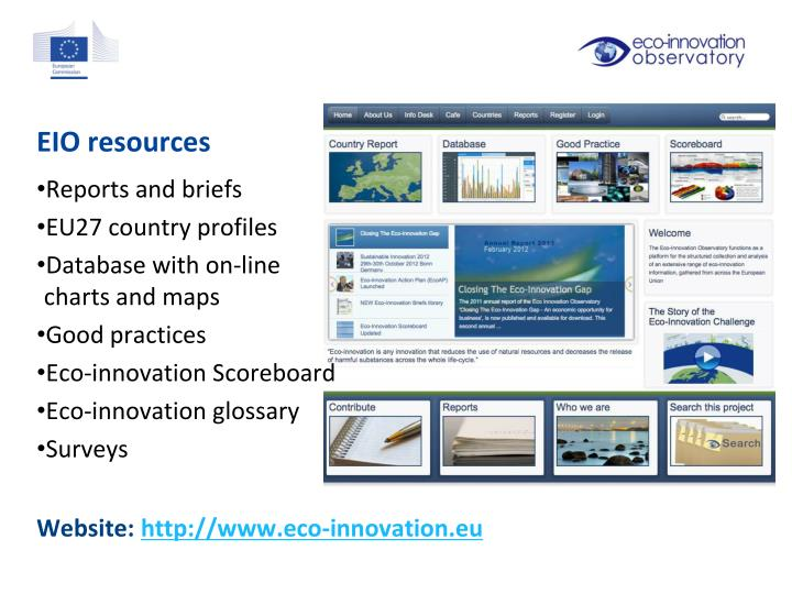 EIO resources