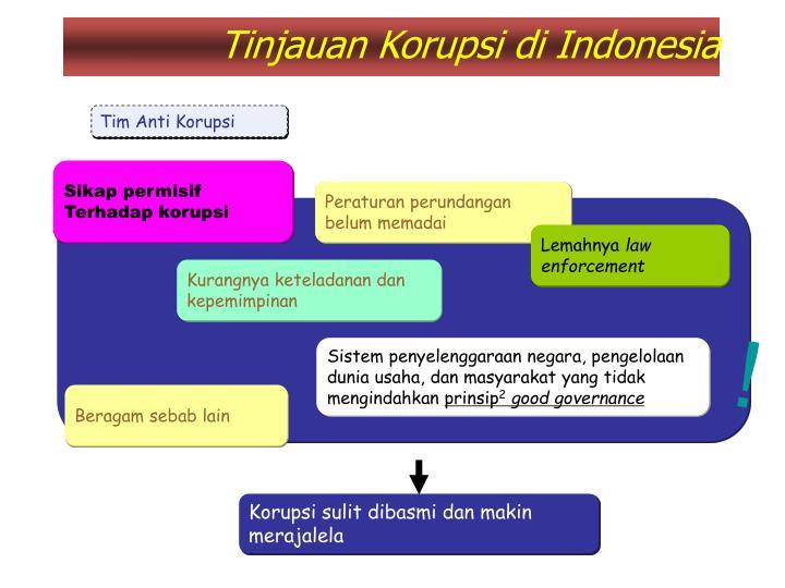 Tinjauan Korupsi di Indonesia