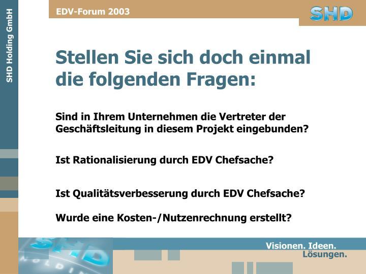 EDV-Forum 2003