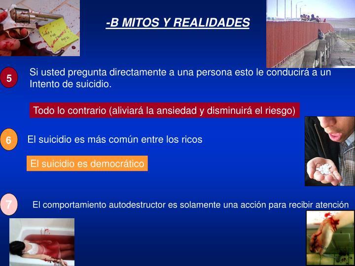 -B MITOS Y REALIDADES
