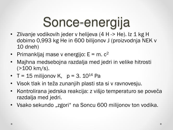 Sonce-energija