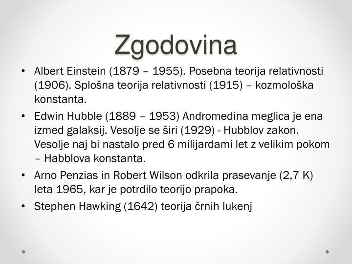 Zgodovina