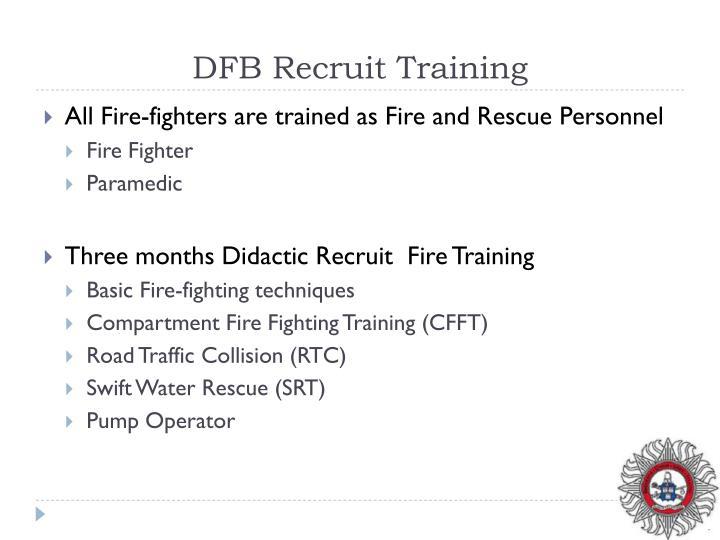 DFB Recruit Training
