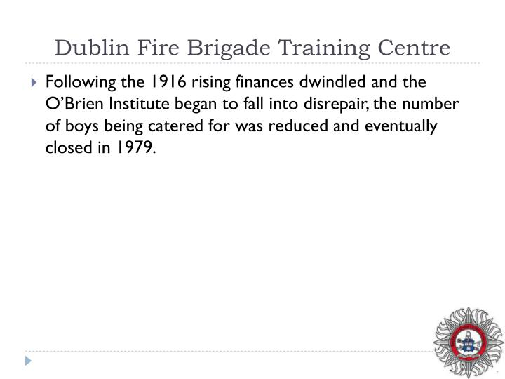 Dublin Fire Brigade Training Centre