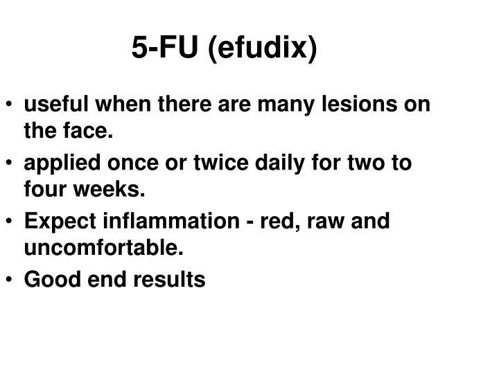 5-FU (efudix)