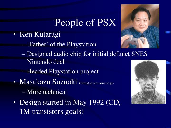 People of PSX
