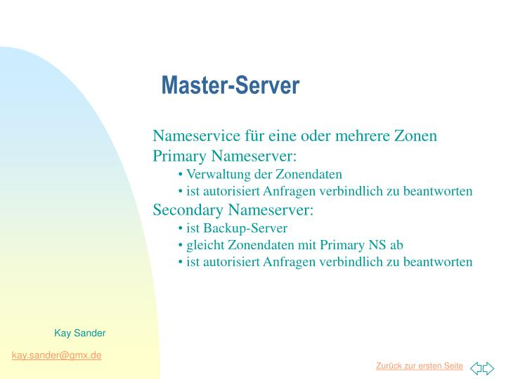 Master-Server