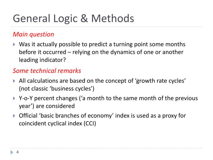 General Logic & Methods