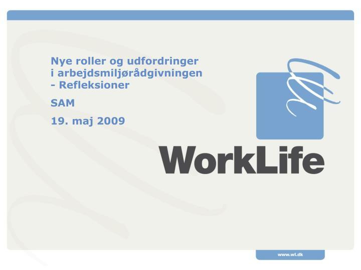 Nye roller og udfordringer i arbejdsmiljørådgivningen - Refleksioner