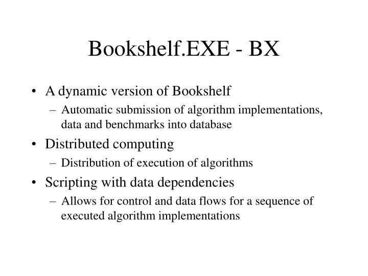 Bookshelf.EXE - BX