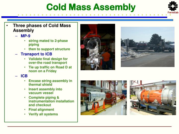 Cold Mass Assembly
