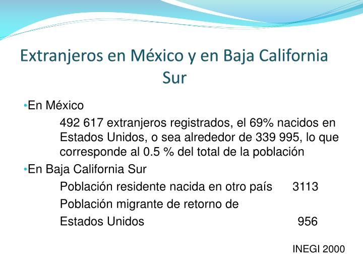 Extranjeros en México