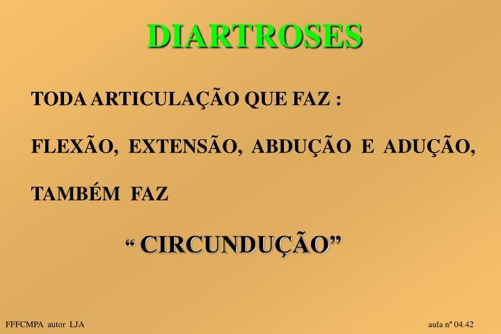 DIARTROSES