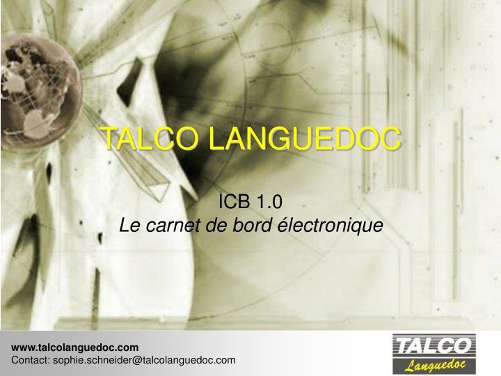 TALCO LANGUEDOC