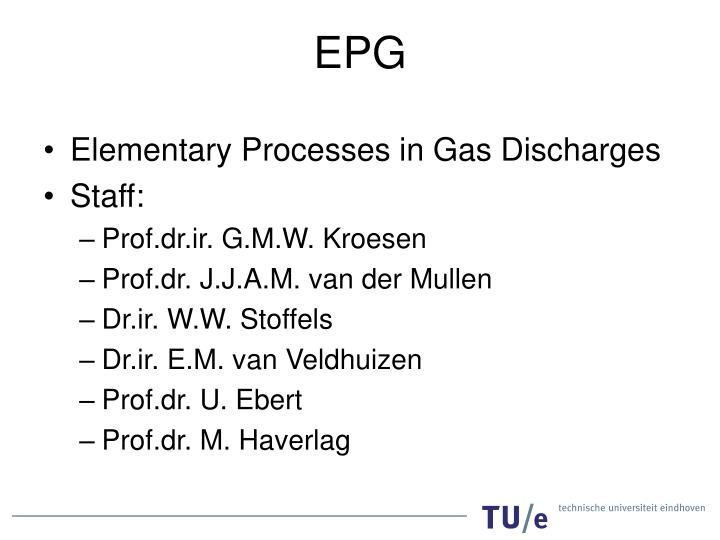Elementary Processes in Gas Discharges