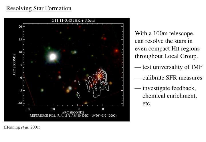 Resolving Star Formation