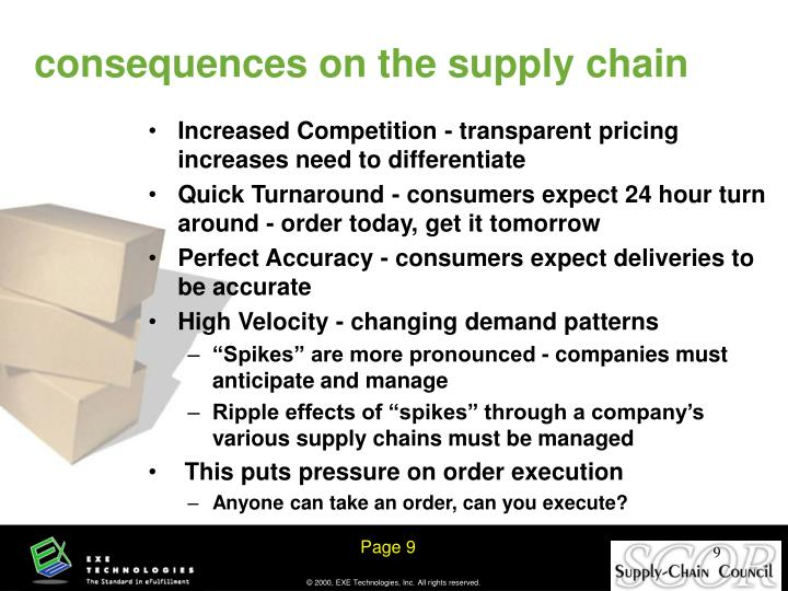 Increased Competition - transparent pricing increases need to differentiate