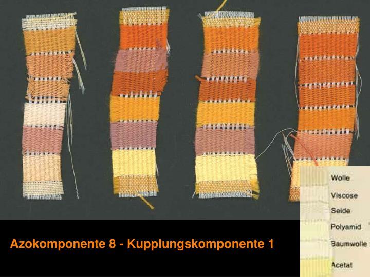 Azokomponente 8 - Kupplungskomponente 1