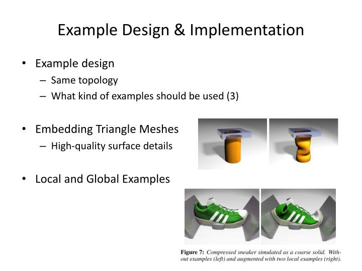 Example Design & Implementation