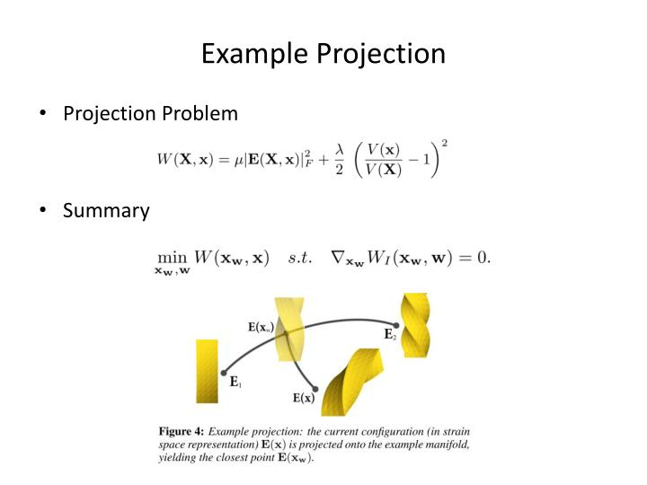 Example Projection