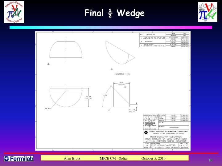 Final ½ Wedge