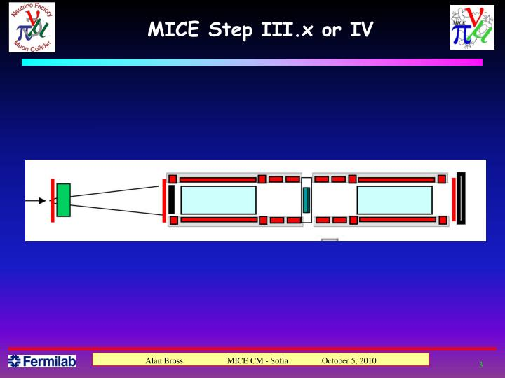 MICE Step III.x or IV