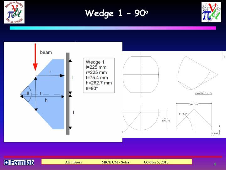 Wedge 1 – 90