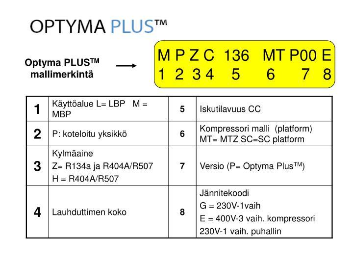 M P Z C  136   MT P00 E