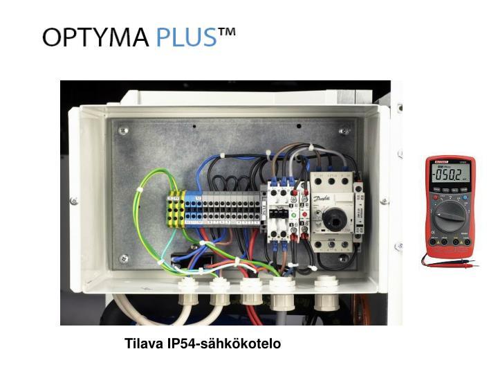 Tilava IP54-sähkökotelo