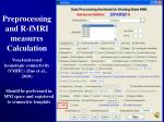 preprocessing and r fmri measures calculation26