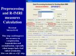preprocessing and r fmri measures calculation5