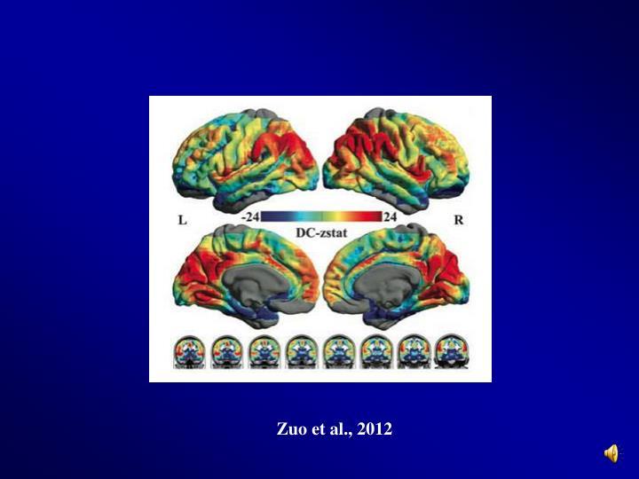 Zuo et al., 2012