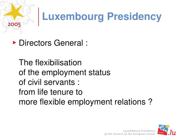 Luxembourg Presidency