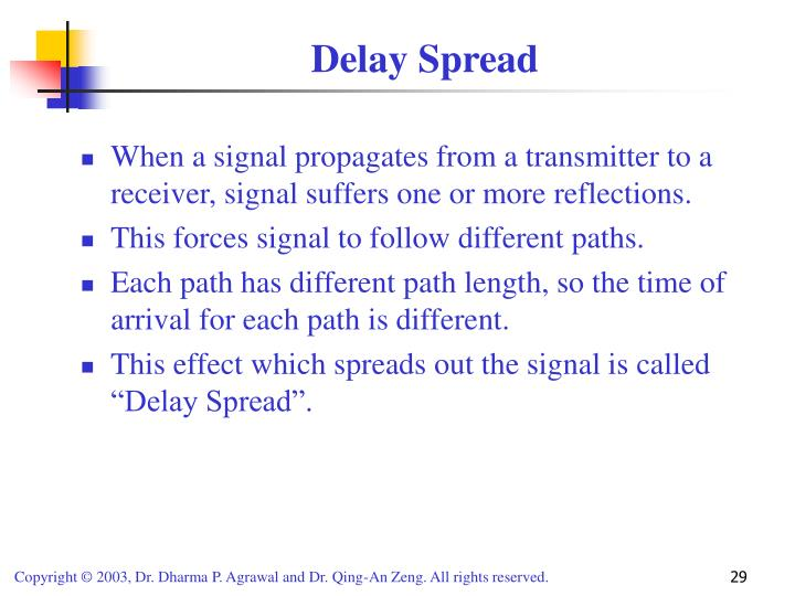 Delay Spread
