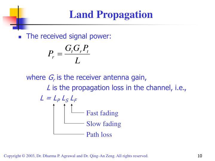 Land Propagation