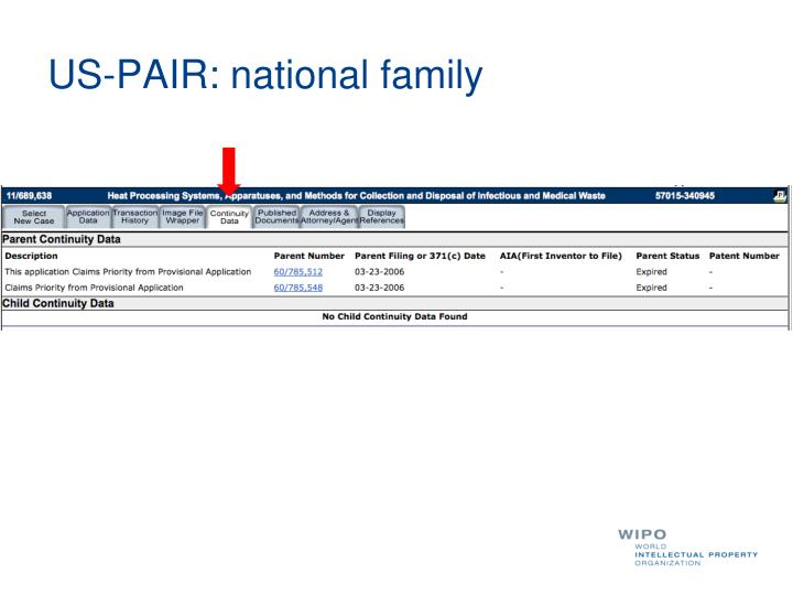 US-PAIR: national family