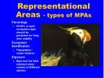 representational areas types of mpas